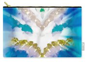 Streams Of Light In Turquoise Carry-all Pouch