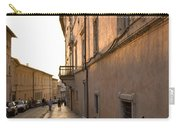 Street At Sundown In Assisi Carry-all Pouch