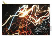 Street Busy At Night  Abstract Carry-all Pouch
