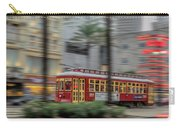 Street Car Flying Down Canal Carry-all Pouch