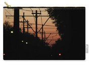 Street Car Sunset Carry-all Pouch
