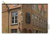 Street Corner In Bruges Belgium Carry-all Pouch