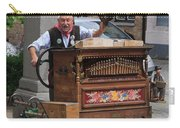 Street Entertainer In Bruges Belgium Carry-all Pouch