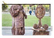 Street Entertainer - La Rambla - Barcelona Spain Carry-all Pouch