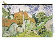 Street In Auvers Sur Oise Carry-all Pouch