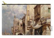 Street In Cairo Carry-all Pouch