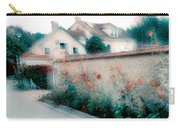 Street In Giverny, France Carry-all Pouch