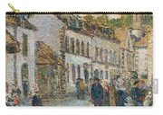 Street In Pont Aven Carry-all Pouch by Childe Hassam