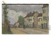 Street In Pontoise Strabe In Pontoise Camille Pissarro Carry-all Pouch