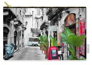 Street In Sicily Carry-all Pouch