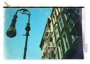Street Lamp And Fire Escape Carry-all Pouch