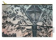 Street Lamp Historic Vintage Art Print Carry-all Pouch