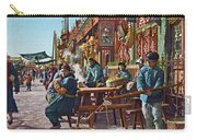 Street Life Of Peking, 1921 Carry-all Pouch