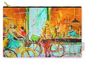 Street Of Amsterdam - Four Girls Carry-all Pouch