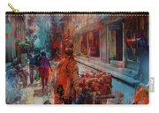Street Of Nepal Colored  Carry-all Pouch