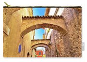 Street Of Sirmione Historic Architecture View Carry-all Pouch