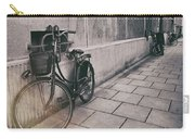 Street Photo Bicycle Carry-all Pouch
