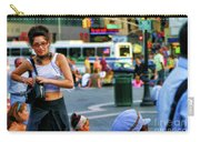 Street Photography Nyc Paint  Carry-all Pouch
