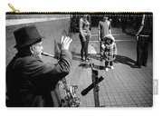 Little Girl Waving Back Carry-all Pouch