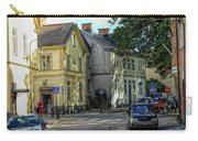 Street Scene In Strangnas Carry-all Pouch