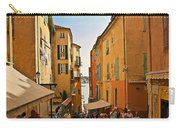 Street Scene In Villefranche Carry-all Pouch