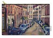 Street Scene Paris 1 Carry-all Pouch