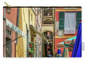 Street Scene Vernazza Italy Dsc02651 Carry-all Pouch