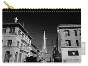 Street Scene With Transamerica Pyramid From Chinatown  Carry-all Pouch