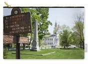 Street Sign In Fitzwilliam, New Hampshire Carry-all Pouch