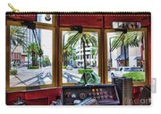 Streetcar Interior New Orleans  Carry-all Pouch