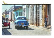 Streetlife With Car In Trinidad, Cuba Carry-all Pouch