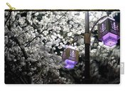 Streetlights In Blossoms Carry-all Pouch