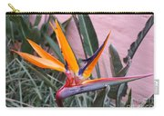 Strelitzia Double Bloom Carry-all Pouch