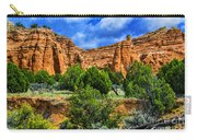 Striated Mountains Carry-all Pouch