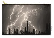 Striking Photography In Sepia Carry-all Pouch