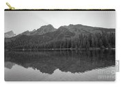 String Lake Reflections Bw Carry-all Pouch