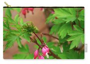 String Of Bleeding Hearts Carry-all Pouch