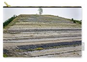 Striped Bank On Side Of A Road In Northwest North Dakota Carry-all Pouch