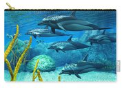 Striped Dolphins Carry-all Pouch
