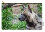 Striped Hyena Carry-all Pouch