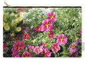 Striped Petunias Carry-all Pouch