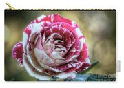 Striped Rose  Carry-all Pouch