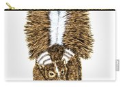 Striped Skunk Carry-all Pouch
