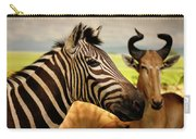 Stripes And Horns 2 Carry-all Pouch
