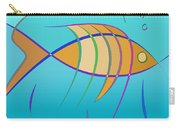 Stripes - Fish Carry-all Pouch