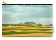 Stripes Of Crops Carry-all Pouch