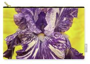 Stripped Lady Iris Carry-all Pouch