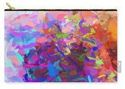 Strips Of Pretty Colors Abstract Carry-all Pouch