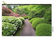 Stroling Garden Path In Japanese Garden Carry-all Pouch