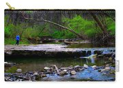 Strolling By The Stream Carry-all Pouch
